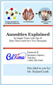 Features of indexed annuities